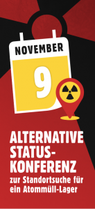 Alternative Statuskonferenz am 9. November 2019 in Hannover