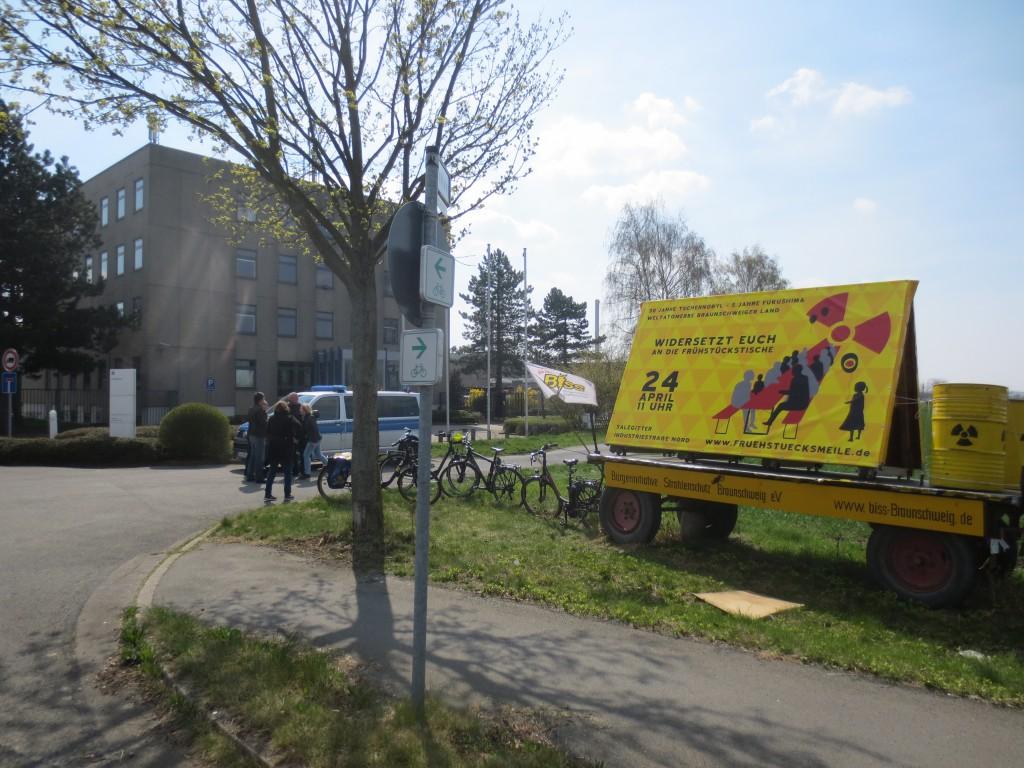 Erster Sonntagsspaziergang 2016, Frühstücksmeile - Plakat