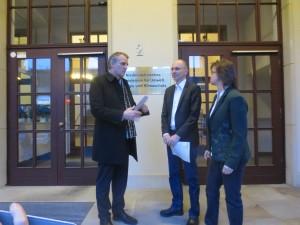 Treffen mit Umweltminister Stefan Wenzel