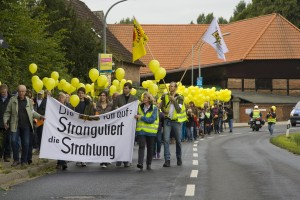 Umzug vom DGH Thune zum Atom Gelände Harxbütteler Straße