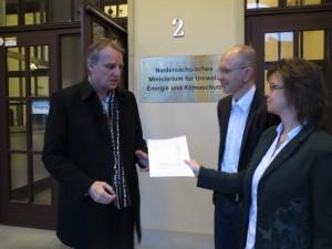 Übergabe des Antrags auf Widerruf der Strahlengenehmigung