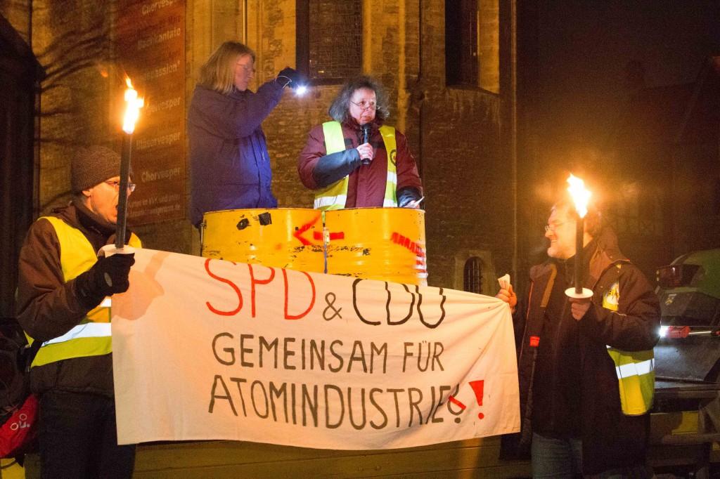 Ursula Schönberger spricht für das Braunschweiger Land